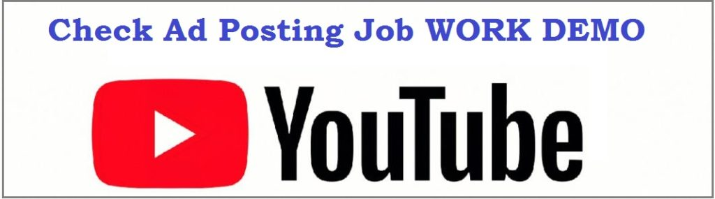 ad posting-job-work-demo